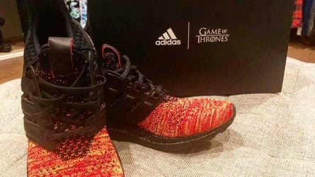 Sergio Garcia Game of thrones adidas shoes