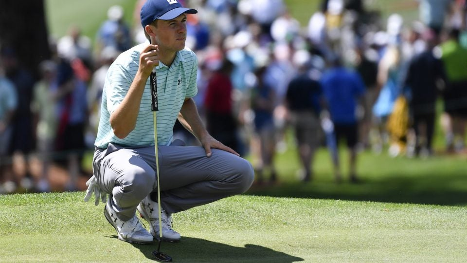 Jordan Spieth recently switched putter grips.