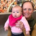 Stacy Lewis and baby Chesnee