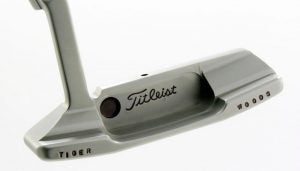 Tiger Woods' Scotty Cameron Newport 2 GSS backup putter.