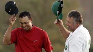 Tiger Woods Steve Williams caddie Masters