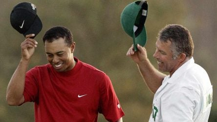 Tiger Woods Steve Williams caddie Masters