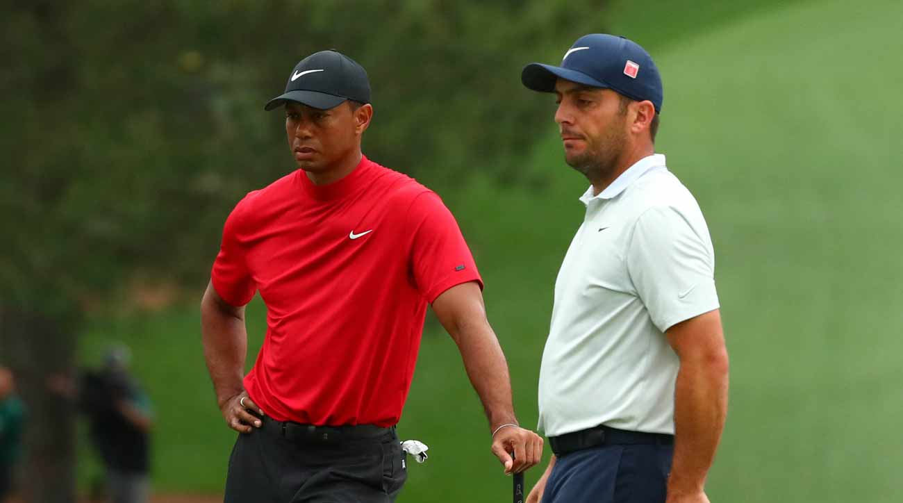 b7969c69 Tiger Woods and Francesco Molinari were paired together on Sunday at the  2019 Masters.
