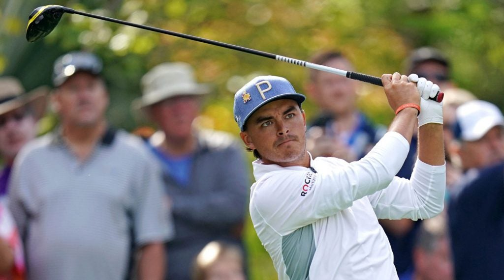 Rickie Fowler will be teeing it up this week at the Valero Texas Open.