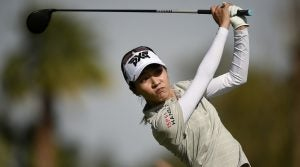 Lydia Ko's weight was a talking point on the broadcast of the second round of the ANA Inspiration.