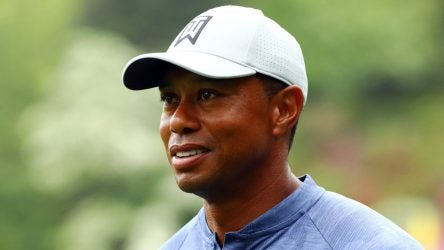 Tiger Woods' first and second round tee times at the 2019 Masters Tournament at Augusta National Golf Club are officially out.