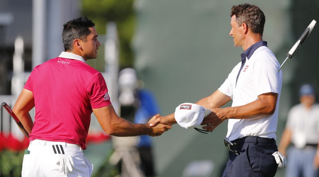 The Aussie duo of Jason Day and Adam Scott have the highest odds to win this week.