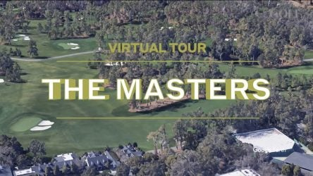 augusta national golf club google earth