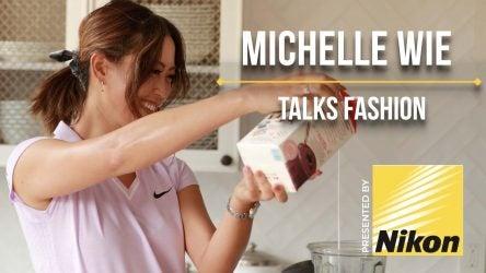 Michelle Wie cooking.