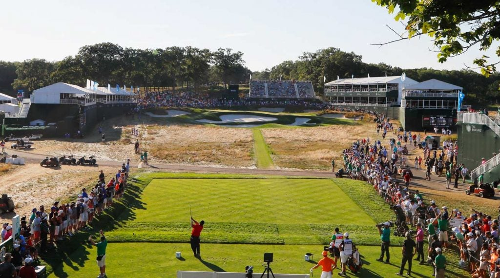Bethpage Black last hosted the 2016 Barclays tournament. The PGA Championship heads there this May.