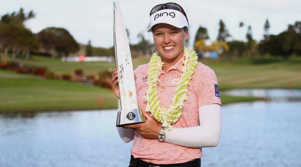 Brooke Henderson won her second-straight Lotte Championship last weekend.