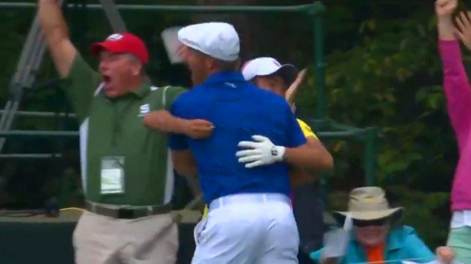 Bryson DeChambeau Masters hole-in-one