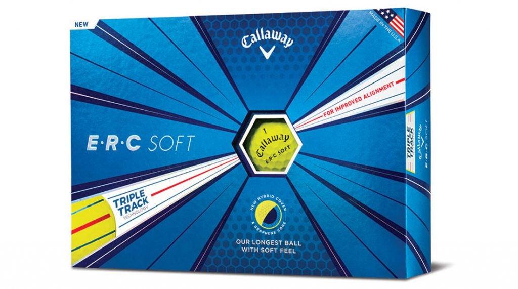 Callaway's ERC Soft Yellow golf balls.