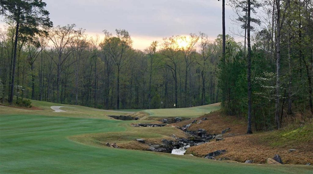 Augusta National may be hosting the final round of the Augusta National Women's Amateur, but Champions Retreat (above) will be the test on Days 1 and 2.