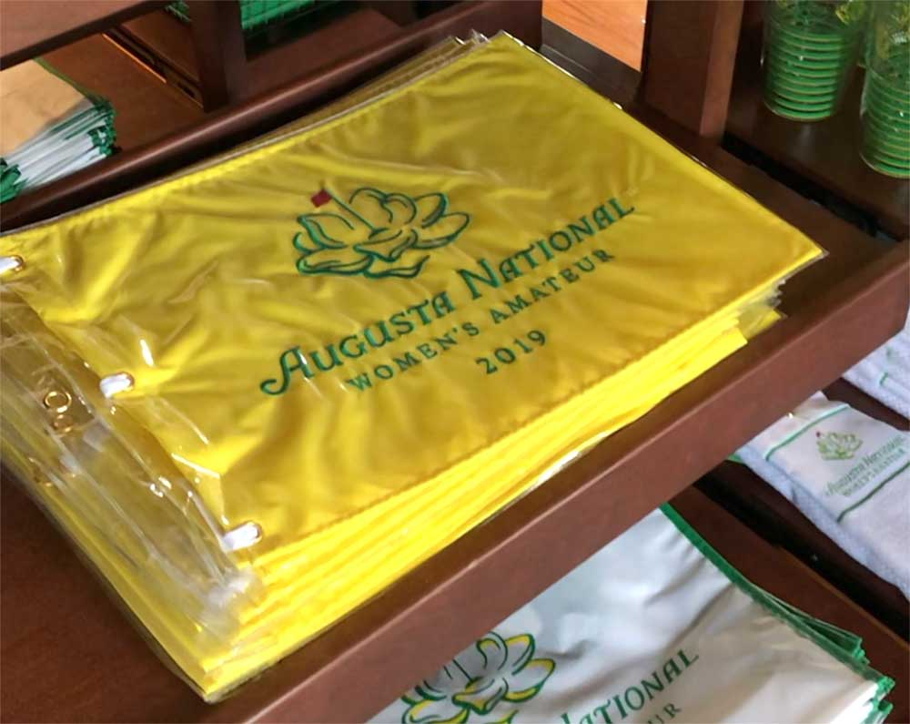 A look at some of the Augusta National Women's Amateur merchandise on sale.