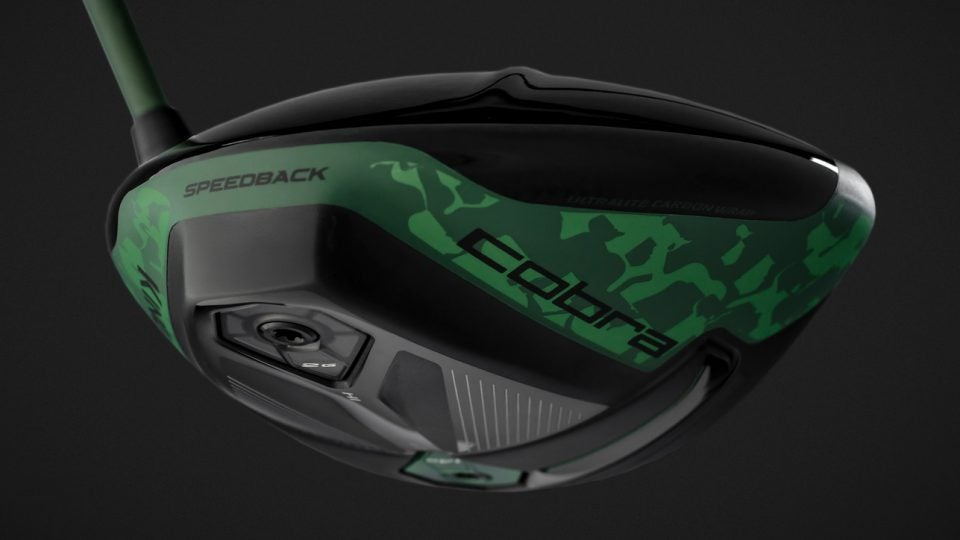 Camo King F9 Speedback driver, Cobra's latest driver