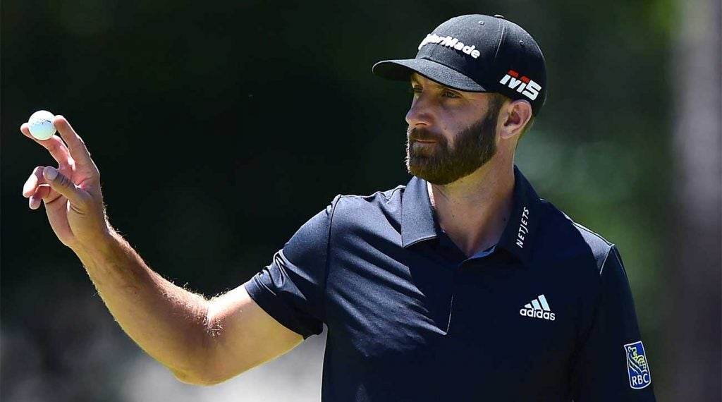 Dustin Johnson did not have a back nine to remember at the RBC Heritage on Sunday.