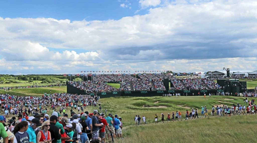 Erin Hills played host to Koepka's first major win at the U.S. Open in 2017.