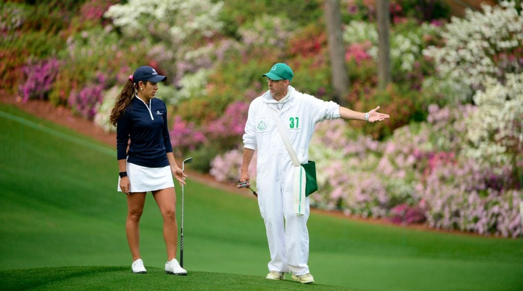 Maria Fassi will tee off in the final pairing Saturday at Augusta National.