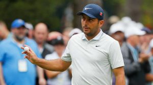 Francesco Molinari led the Masters with nine holes to play, but he couldn't hang on.