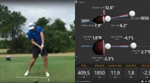 World Long Drive champ's Trackman numbers.