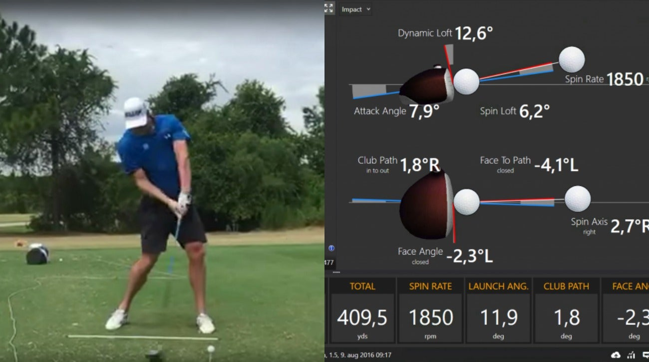 See A World Long Drive Champ S Trackman Numbers After 409