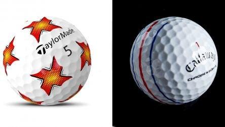 Golf ball brands employ new patterns on balls