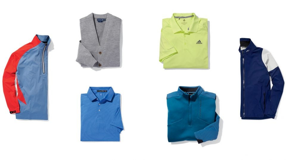 Sleeves for all seasons: 6 weather-ready golf polos and pullovers