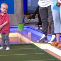 Golf prodigy inspired by Tiger Woods