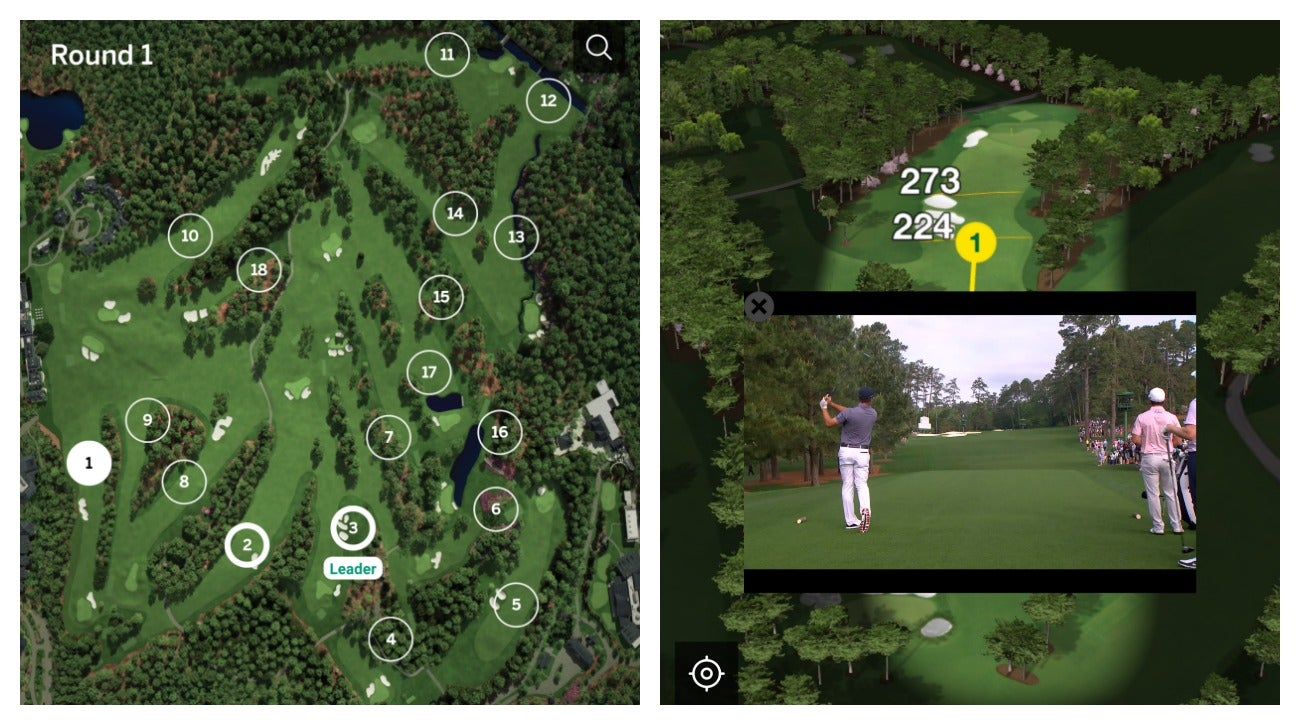 2019 Masters: Fans Love This New Feature In The Masters App