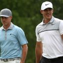 Brothers Brooks (right) and Chase Koepka tied for 5th at the 2017 Zurich Classic.
