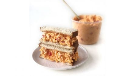 Pimento cheese sandwich from the Masters.