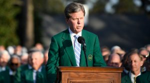 Masters ball: Fred Ridley shoots down idea