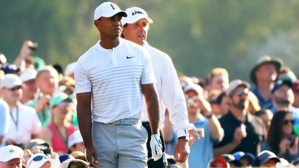 2019 Masters field: Tiger Woods and Phil Mickelson