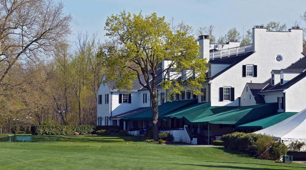 The first hole at Merion Golf Club is a good one.