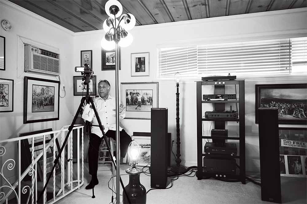 Peter Kessler, today, in his home studio in Orlando.