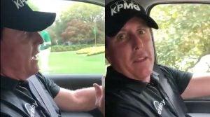 Phil Mickelson took a jab at his good friend Matt Kuchar.