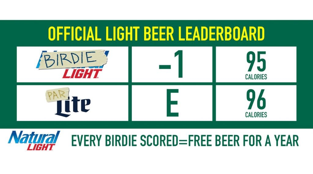 Claim your cases of Natty Light.