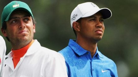Francesco Molinari and Tiger Woods first met at the 2006 Masters.
