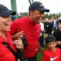 Tiger Woods chewing gum Masters: Sunday at Augusta