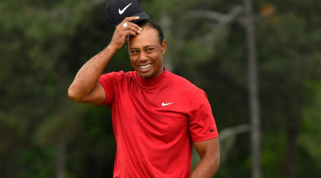 Tiger Woods Grand Slam: Sinking the winning Masters putt