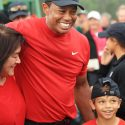 Tiger Woods kids at Masters