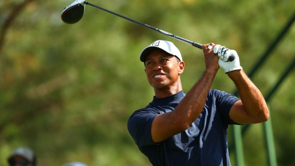 tiger woods masters tee time  when does tiger tee off