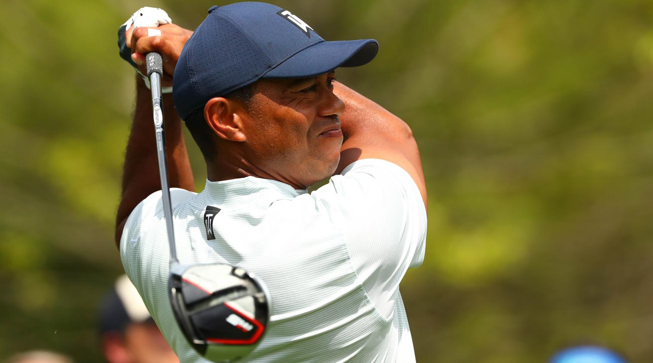 tiger woods masters tee time  when does tiger tee off sunday
