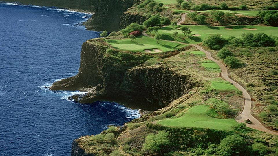 I love this place: The 12th hole at Manele Golf Course in Hawaii