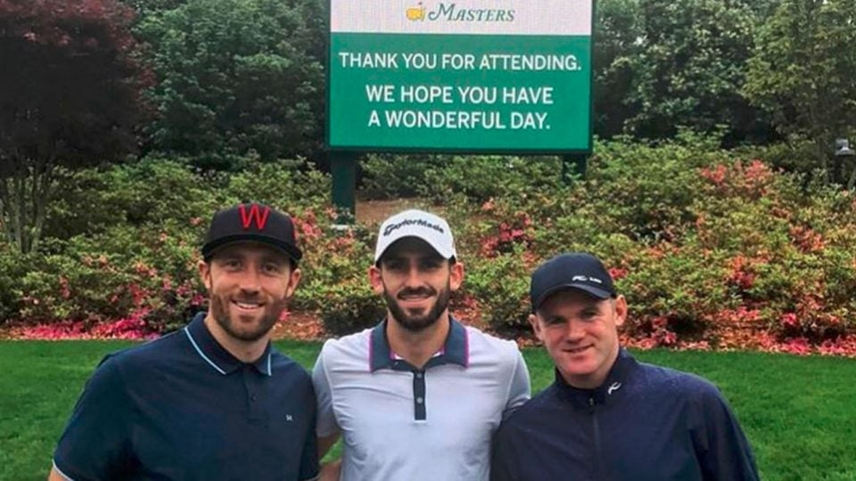 Wayne Rooney took 'insane' journey to see Tiger Woods win Masters