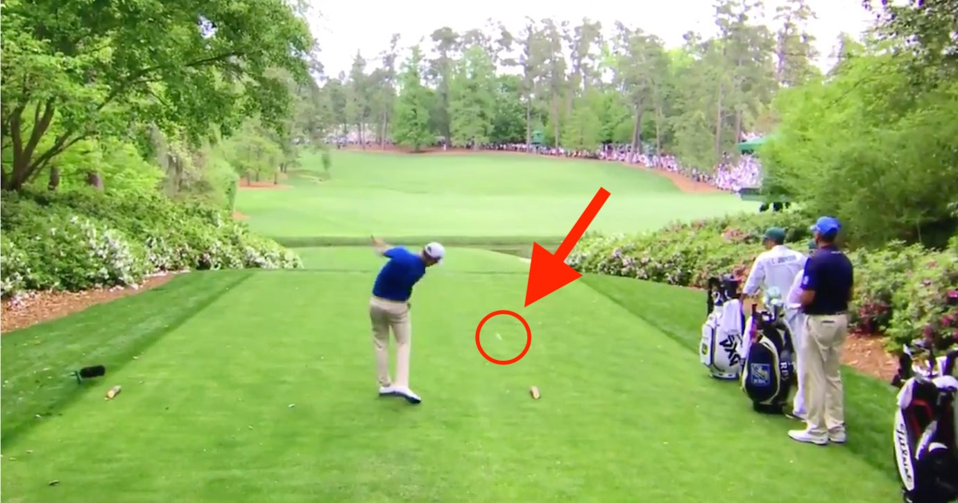 Zach Johnson's viral 13th-hole moment at the Masters.