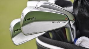 Ping's Blueprint irons have been on tour going back to the end of last year.