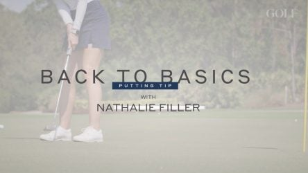 golf instruction putting