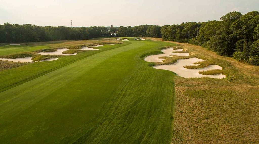 The par-4 10th hole at Bethpage Black.